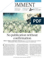 No Publication without confirmation