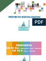 Proyecto Digitalizacion CR 30-X CR 30-Xm Estacion Grado Medico.ppt