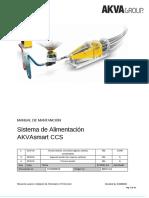 ES Manual de Mantención de CCS AKVA Feeding System