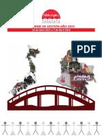 INFORME DE GESTIÓN 2015-2016