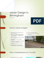 Urban Design in Birmingham