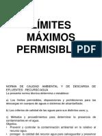 LÍMITES MÁXIMOS PERMISIBLES