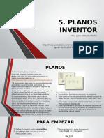 5. Planos en Inventor