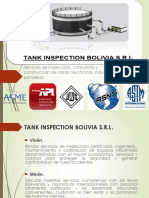 Tank Inspection Bolivia