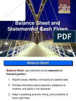 7.Balance Sheet and Statement of Cash Flows