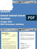 Taklimat SULDP 160816 PPD Sandakan