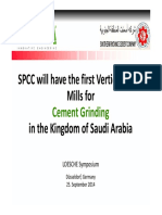 08 Sweidan SPCC the 1st Vertical Rollers Mills for Cement in Saudi Arabia