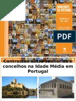 Contrastes Entre Senhorios e Concelhos Na Idade Media Em Portugal