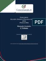 Manuale Gratuito Concorso Allievi Agenti Polizia Di Stato 2016 1 Volume.