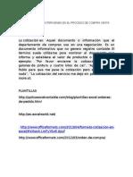 Documentos Que Intervienen en El Proceso de Compra Venta