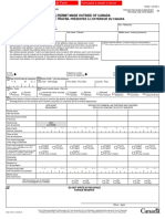 Canada Work Permit ApplicationForm