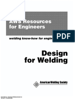 ARE - Design for Welding - AWS Resources for Engineers