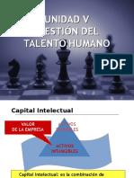 Unidad V Gestión del Talento Humano
