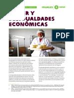 Mujer y Desigualdades Económicas Oxfam