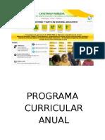 PROYECTO CURRICULAR DE AULA QUINTO GRADO-2014.doc