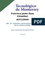 A07125949-MIV - U7 - Actividad 4. Nomenclatura de Esteres, Éteres, Aminas y Amidas