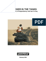 Tiger in the Tanks - Oil Dependency and the War in Iraq
