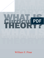 Pinar William, What is Curriculum Theory