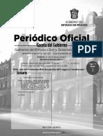 Periodico Oficial - Gaceta Del Gobierno