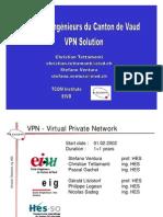 VPN - Virtual Private Network Projet HES Yverdon et Genève