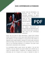 Respuesta Inmune a Enfermedades Autoinmunes