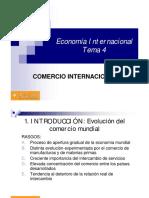 Tema 4 - Comercio Internacional