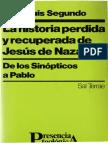 La Historia Perdida y Recuperada de Jesus de Nazareth Juan-Luis-Segundo