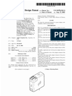 Power adapter (US patent D478310)