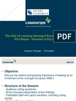 2015 LeaseEurope - SMEs Focus