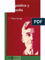 Lingüística y filosofía - Mario Bunge.pdf