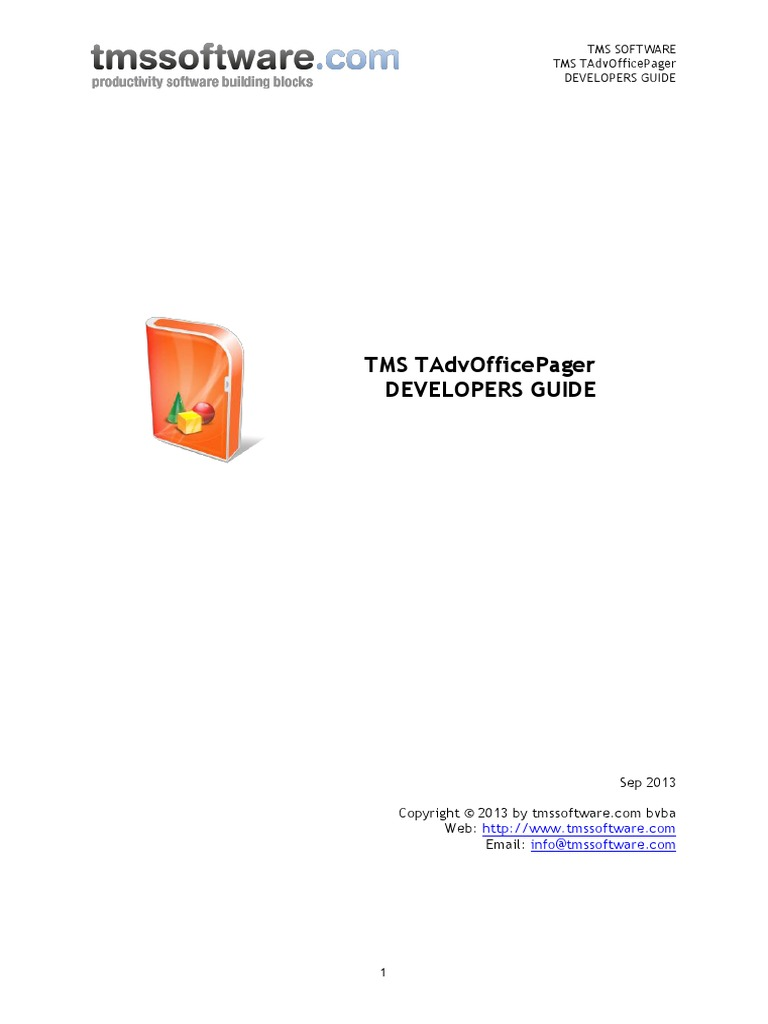 TMS TAdvOfficePager.pdf   System Software   Technology
