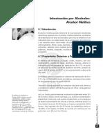EMERG. MÉDICAS I. Capitulo 6. Intoxicación Por Alcoholes Alcohol Metílico