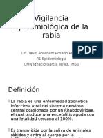 Vigilancia Epidemiológica de La Rabia