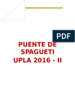 Bases Para El Puente-De-spagueti