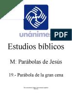 M.19.- Parabola de La Gran Cena