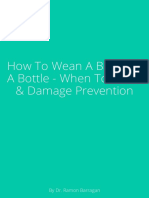 How to Wean a Baby Off a Bottle