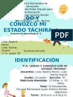 Conocer Las Costumbres de Mi Estado Táchira