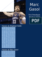Spanish Marc Gasol Project
