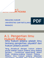 Pidana-02 Ilmu Hukum Pidana di Indonesia