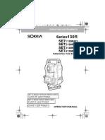 Manual Set 130 r