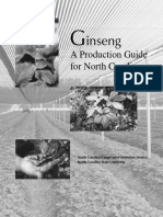 Ginseng Production Guide for North Carolina