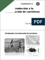 01.00 Clase Introductoria Caminos II