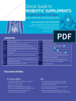 Canadian Probiotic Guideline
