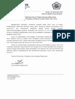 Pemberitahuan Pelaksanaan Survei Tingkat Kepuasan Masyarakat Terhadap Pelayanan Perpajakan Direktorat Jenderal Pajak Tahun 2012