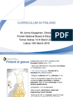 1 Curriculum in Finland