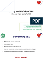 Safety and Pitfals of TEE