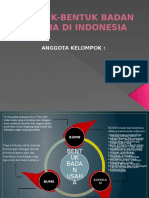 Bentuk-bentuk Badan Usaha Di Indonesia Ppt