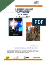 Soldexa Especializaciones 2017[1]