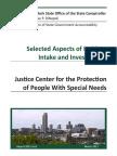 Justice Center Audit