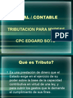 Tributacion Para MyPE-Edgard Soto